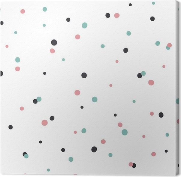 tableau sur toile motif continu r sum sur fond blanc avec le noir et gol pixers nous. Black Bedroom Furniture Sets. Home Design Ideas