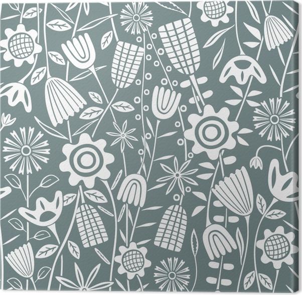 Tableau sur toile motif de fleur - Kubem studio - Artistes contemporains