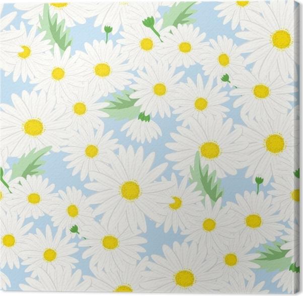 tableau sur toile motif floral sans soudure fond dans les. Black Bedroom Furniture Sets. Home Design Ideas