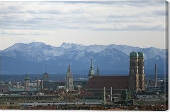Tableau sur toile Munich Panorama
