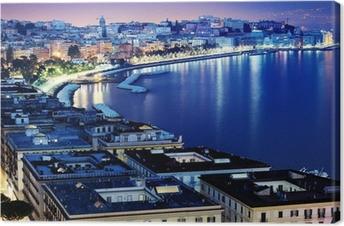Tableau sur toile Naples magnifique vue panoramique