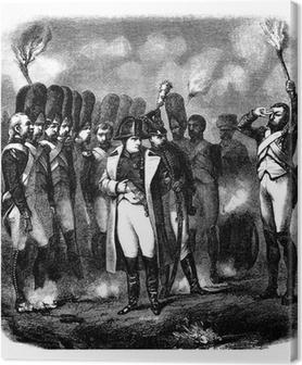 Tableau sur toile Napoléon Bonaparte - début 19ème
