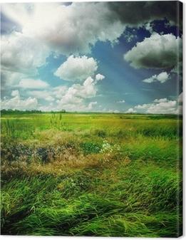 Tableau sur toile Nature Paysage magnifique rural