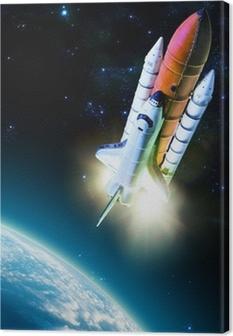 Tableau sur toile Navette spatiale