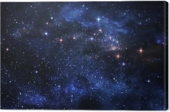 Tableau sur toile Nébuleuses Deep space