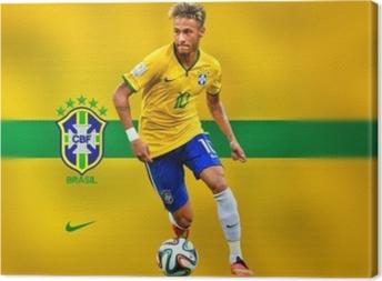 Tableau sur toile Neymar