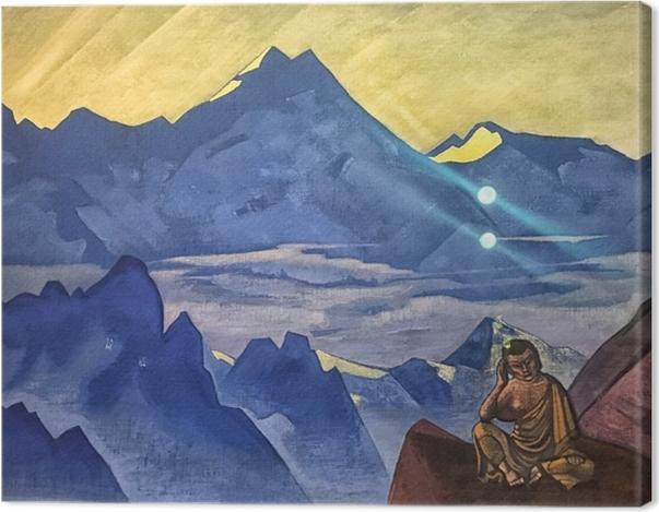 Tableau sur toile Nicolas Roerich - Bouddha - Nicholas Roerich