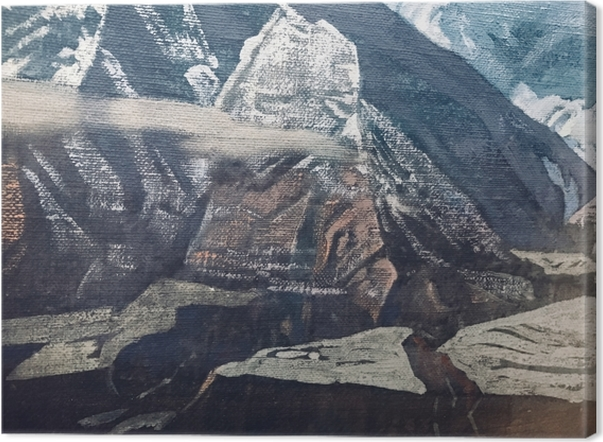 Tableau sur toile Nicolas Roerich - Himalaya - Nicholas Roerich