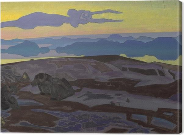 Tableau sur toile Nicolas Roerich - Le verdict - Nicholas Roerich