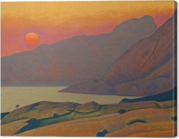Tableau sur toile Nicolas Roerich - Monhegan. Maine - Nicholas Roerich