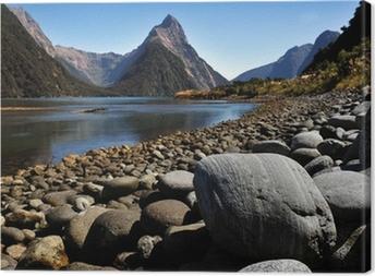 Tableau sur toile Nouvelle-Zélande Fiordland