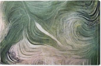 Tableau sur toile Nuances de vert