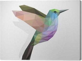 Tableau sur toile Oiseau / colibri coloré