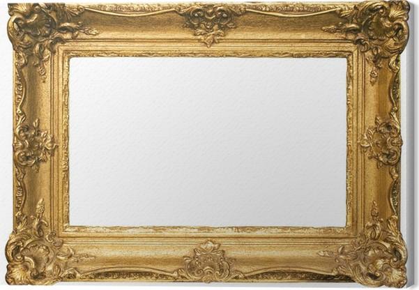 tableau sur toile or plaqu en bois cadre photo w chemin. Black Bedroom Furniture Sets. Home Design Ideas