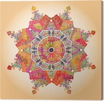 Tableau sur toile Oriental mandala motif