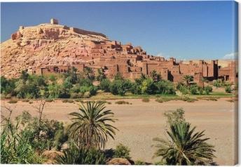 Tableau sur toile Ouarzazate Maroc città del film ensemble Il Gladiatore