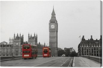 Tableau sur toile Palais de Westminster