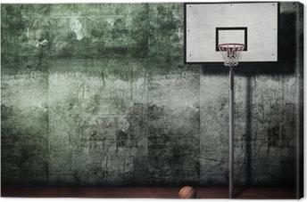 Tableau sur toile Panier basket