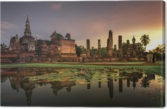 Tableau sur toile Parc historique de Sukhothai