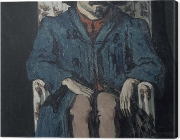 Tableau sur toile Paul Cézanne - Achille Emperaire - Reproductions