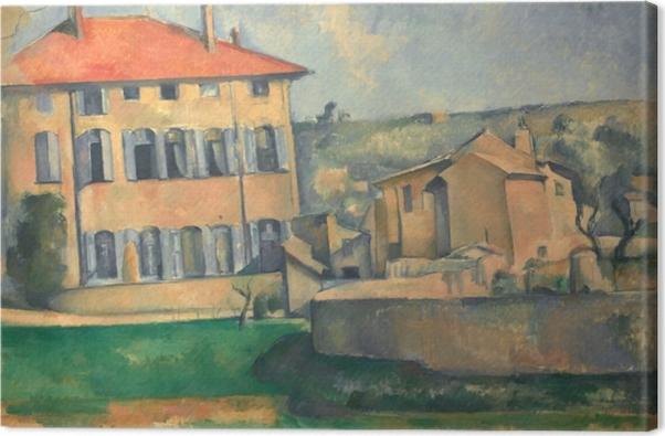 Tableau sur toile Paul Cézanne - Jas de Bouffan - Reproductions