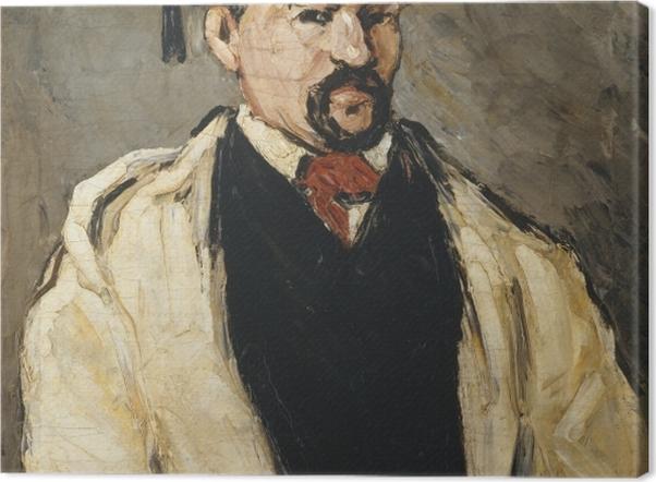 Tableau sur toile Paul Cézanne - L'Homme au bonnet de coton - Reproductions