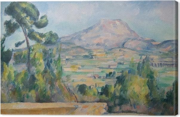 Tableau sur toile Paul Cézanne - Mont Sainte-Victoire - Reproductions