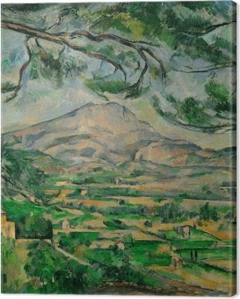Tableau sur toile Paul Cézanne - Montagne Sainte-Victoire - Reproductions