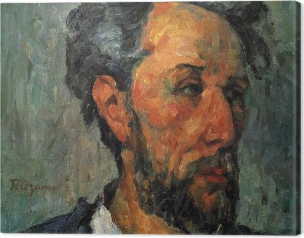 Tableau sur toile Paul Cézanne - Portrait de Victor Chocquet - Reproductions