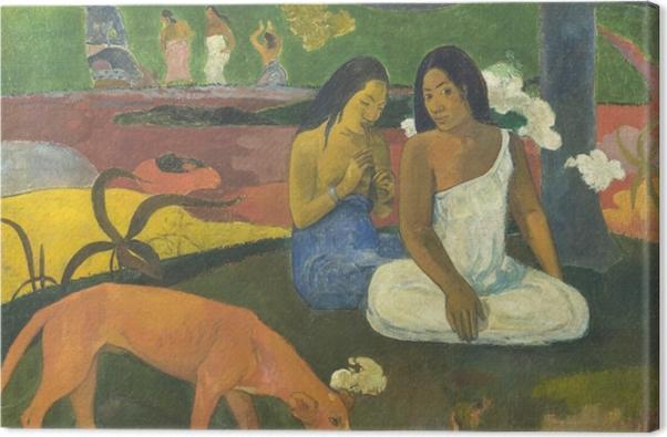 Tableau sur toile Paul Gauguin - Arearea - Reproductions