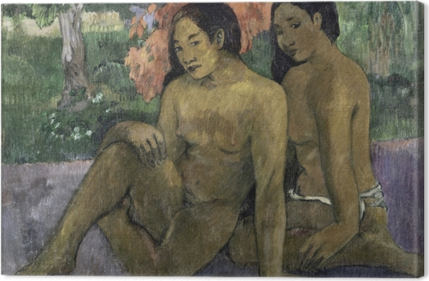 Tableau sur toile Paul Gauguin - Et l'or de leur corps - Reproductions