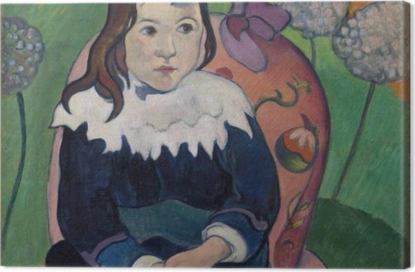 Tableau sur toile Paul Gauguin - M. Loulou - Reproductions