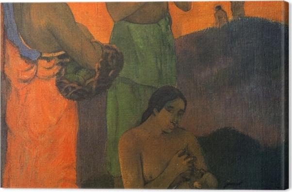 Tableau sur toile Paul Gauguin - Maternité - Reproductions