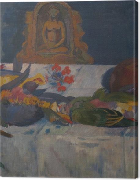 Tableau sur toile Paul Gauguin - Nature morte avec perroquets - Reproductions