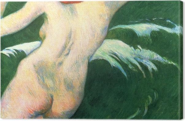 Tableau sur toile Paul Gauguin - Ondine - Reproductions