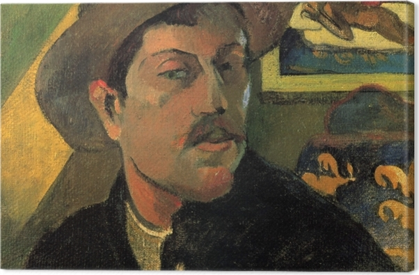 Tableau sur toile Paul Gauguin - Portrait de l'artiste - Reproductions