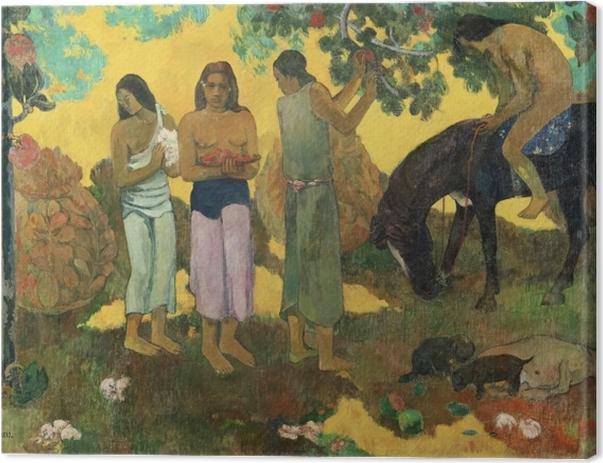 Tableau sur toile Paul Gauguin - Rupe Rupe (La cueillette des fruits) - Reproductions