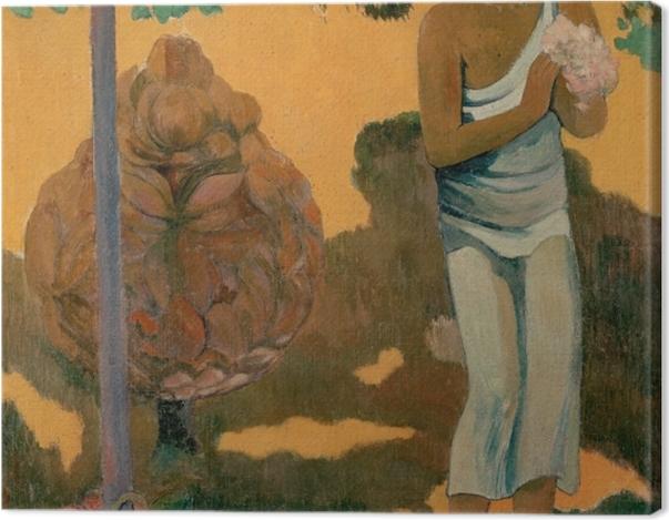 Tableau sur toile Paul Gauguin - Te Avae No Maria (Le mois de Marie) - Reproductions