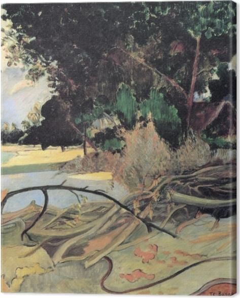 Tableau sur toile Paul Gauguin - Te Burao (L'arbre Hibiscus) - Reproductions