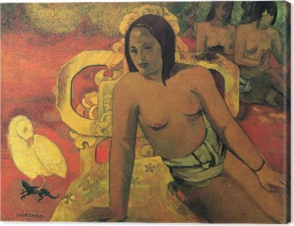 Tableau sur toile Paul Gauguin - Vairumati - Reproductions