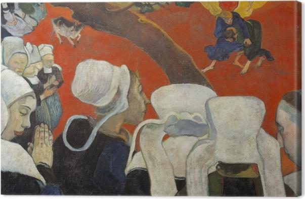 Tableau sur toile Paul Gauguin - Vision après le sermon - Reproductions
