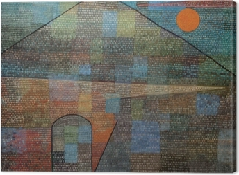 Tableau sur toile Paul Klee - Ad Parnassum