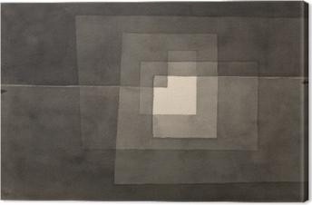 Tableau sur toile Paul Klee - Deux façons