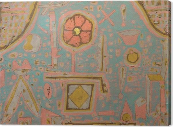 Tableau sur toile Paul Klee - Efflorescence - Reproductions