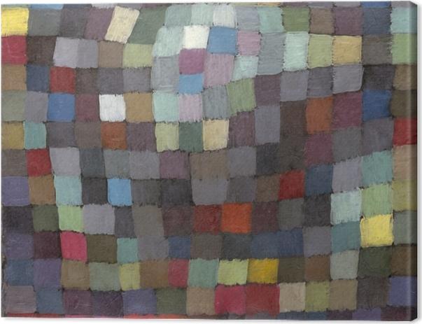 Tableau sur toile Paul Klee - Image de Mai - Reproductions
