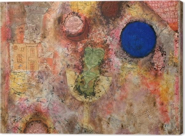Tableau sur toile Paul Klee - Jardin magique - Reproductions