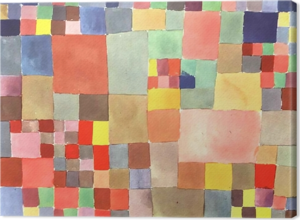 Tableau sur toile Paul Klee - La Flore sur sable - Reproductions