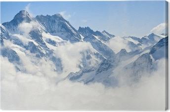 tableaux sur toile paysages montagnes alpes pixers nous vivons pour changer. Black Bedroom Furniture Sets. Home Design Ideas