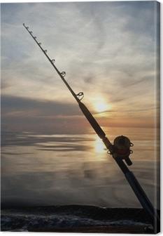 Tableau sur toile Pêche au gros