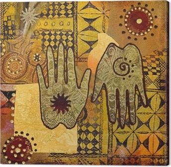 Tableau sur toile Peinture à la main